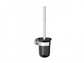 Style Moderne Wall mounted toilet brush – Black