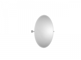 Style Moderne Tilting mirror - Oval
