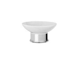 Style Moderne freestanding soap dish-white